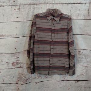 Marmot Flannel Long Sleeve Shirt Size Small